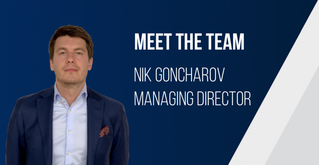 Meet The Team - Nik