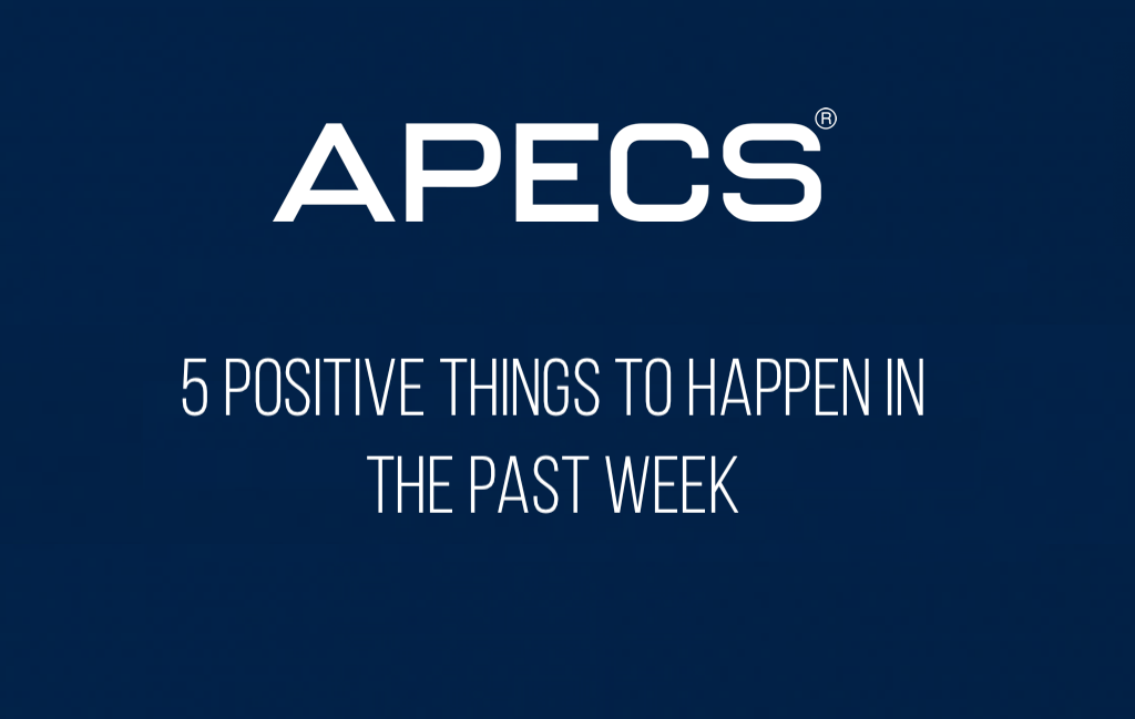 5 Positive Things To Happen This Week
