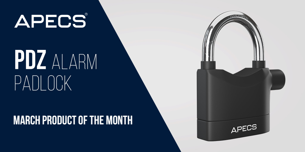 Product of the Month - PDZ Alarm Padlock