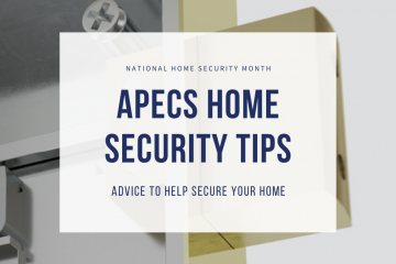 National Home Security Month -  Top Tips To Secure Your Home